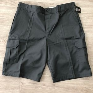 Dickies Cargo Shorts Relaxed Fit Gray Sz 42 Mens